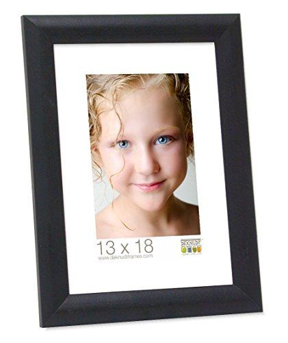 Deknudt Frames S40CL2 Bilderrahmen, Holz, 30 x 40 cm, Schwarz