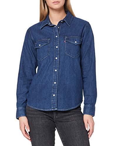 Levi\'s Damen Essential Western Hemd, Air Space, S