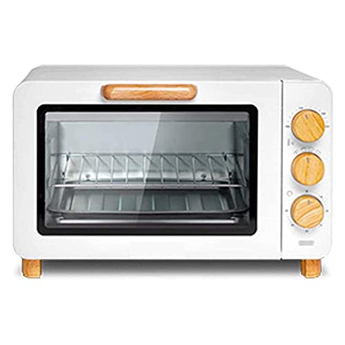Horno Sobremesa doméstico Horno de parrilla eléctrica de 15L, horno de pizza, control inteligente de temperatura, temporizador de 60 minutos, ideal para caravanas y apartamentos estudiantiles