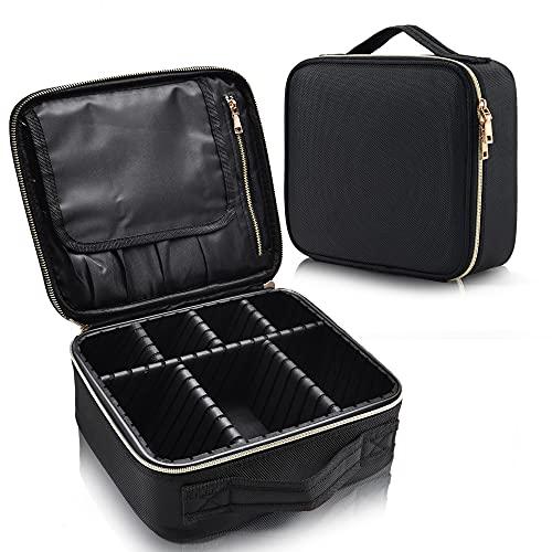Joligrace Makeup Bag Cosmetic Case Vanity Travel Beauty Box Make Up Train...