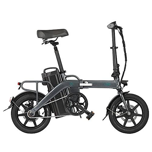 Bicicleta Adulto, Bicicleta montaña Mujer, Bicicletas Mujer Baratas FIIDO L3, bbicicleta electrica Hombre, batería extraíble 48V 23,2Ah, Motor 350 W, Bicicleta eléctrica Plegable de Largo Alcance
