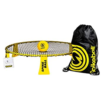 Spikeball Rookie Kit - 50% Larger Net and Ball - Played Outdoors Indoors Yard Lawn Beach - Designed for New Players