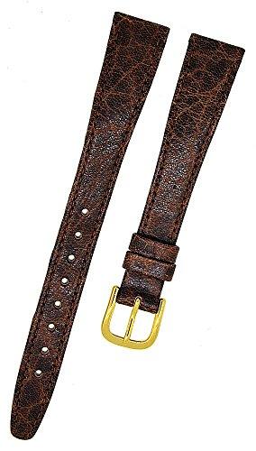 FORTIS Uhrenarmband Swiss Made LEDER braun Dornschließe 14mm NEU 9133