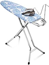 Bartnelli Rorets Ironing Board Made in Europe | Height Adjustable Iron Board with Safety Iron Rest, Safety Storage Lock, 4 Layer Pad, Home Laundry Room or Dorm Use | with Removable Iron Cord Holder