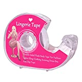 Fashion Boob Body Tape,Double Sided Clear Fabric Strong Body Tape for Clothes Skin Dress Bikini Bra Straps, 5M/16 Feet