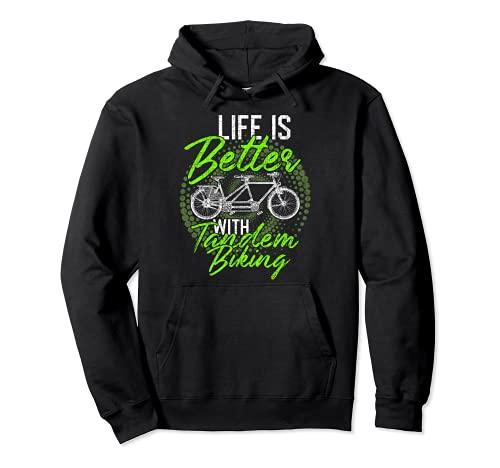 Tandembike T-Shirt Tandem ist Leben Pullover Hoodie