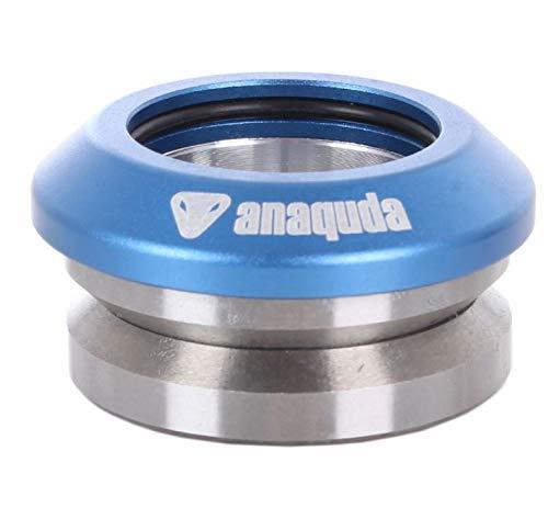 completo integrado anaquda headset 1 1/8' scooter Stunt Control de azul