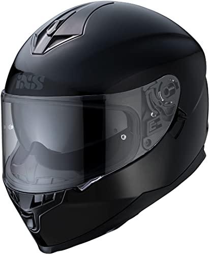 IXS Herren X14069 Motorradhelm, Schwarz, M