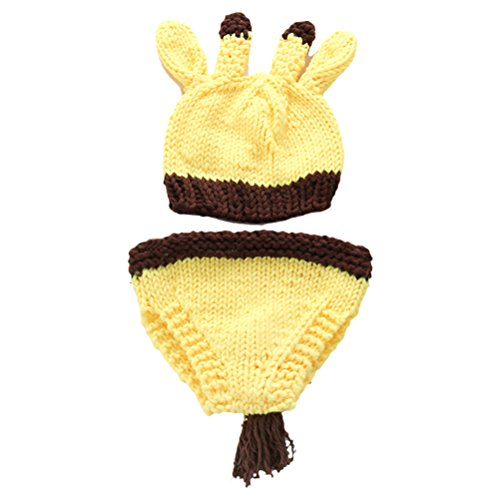 Zhhlinyuan Mode Newborn Baby Boy Girl Crochet Knit Costume Photo Photography Prop Outfit 2197