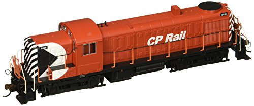 Bachmann Industries Alco RS-3 DCC Sound Value Equipped HO Scale #8438 Diesel CP Rail Multimark Locomotive, Red/Black/White