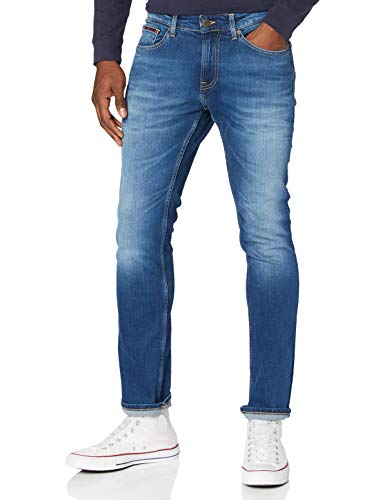 Tommy Hilfiger Scanton Slim Wmbs Jeans, Blu (Wilson Mid Blue Stretch), W31 / L32 Uomo