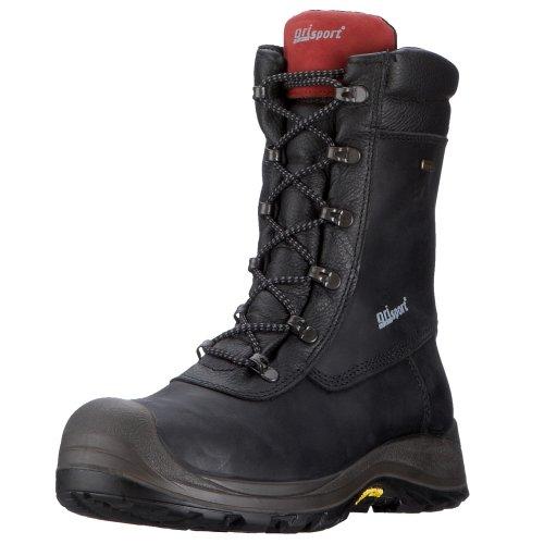 Grisport 74047CD4LY, Unisex - Erwachsene Arbeits & Sicherheitsschuhe S3, schwarz, (schwarz), EU 48