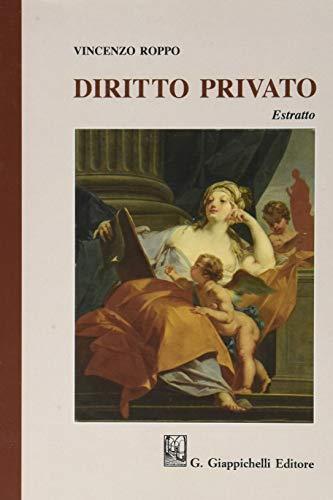 Diritto privato. Estratto