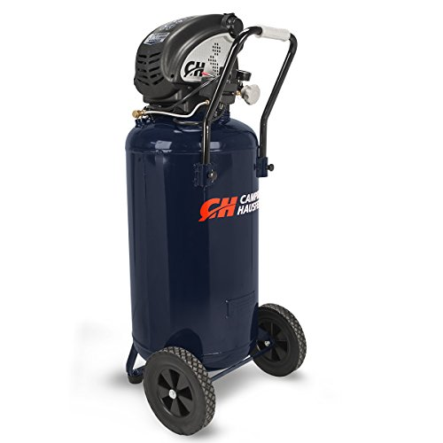 Air Compressor, 26 Gallon, Vertical, Portable (Campbell Hausfeld DC260000),Blue
