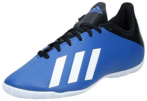 Adidas X 19.4 IN, Zapatillas Deportivas Fútbol Hombre, Azul (Team Royal Blue/FTWR White/Core Black), 39 1/3 EU