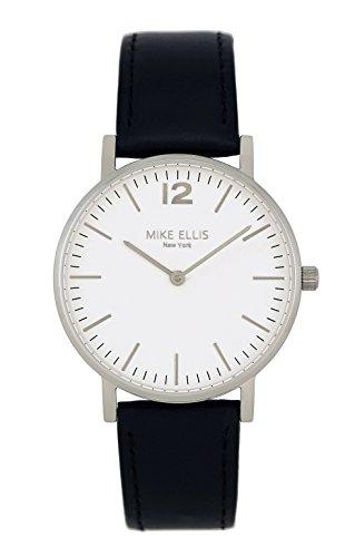 Mike Ellis New York Reloj analógico para Unisex de Cuarzo con Correa en Piel SL4564H1