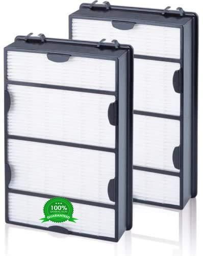 AQUA GREEN HAPF600 True HEPA Filter Compatible with Holmes HAPF600 Allergen Remover B Filter (2 Pack)