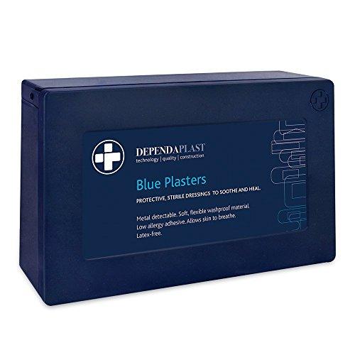 Betrouwbare medische steriele Dependaplast Verschillende blauwe pleisters in blauwe doos - 120 stuks