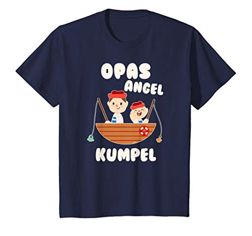 Kinder Angel T-Shirt Jungen Opa und Enkel Angel Opas Angel Kumpel T-Shirt