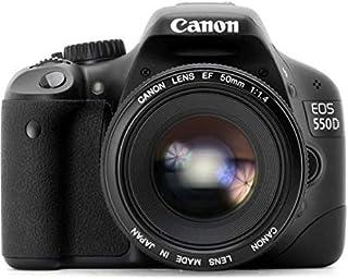 كاميرا كانون اي او اس 550 دي - 18 ميجابكسل، كاميرا عاكسة مفردة العدسة، سوداء، العدسات من 18 - 55 ملم