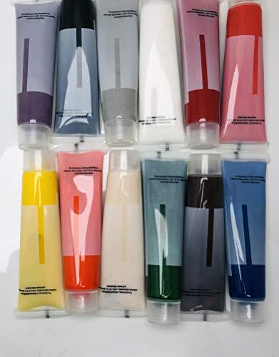 colores de alimentos de gel en súper set de 12 unidades