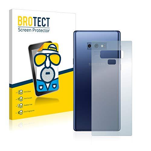brotect Pellicola Protettiva Opaca Compatibile con Samsung Galaxy Note 9 (Posteriore) Pellicola Protettiva Anti-Riflesso (2 Pezzi)