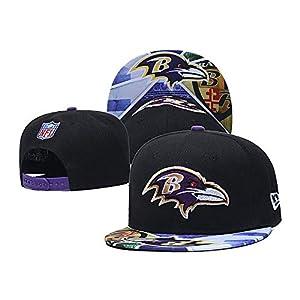 Fit Baltimore Ravens 9Fifty Adjustable Baseball Cap,Fit Ravens Hat (Fit Ravens)