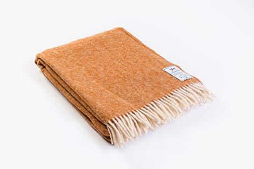 Venta. Lana de oveja merina ligera manta 100% lana, tamaño: 160x 200cm