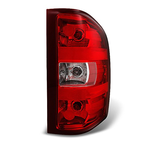 ACANII - For 2007-2013 Chevy Silverado 1500 2500 3500 Rear Replacement Tail Light - Passenger Side Only