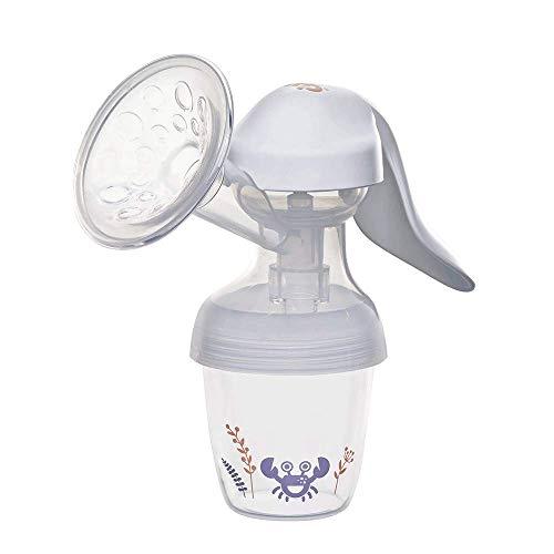 nip first moments SET Handmilchpumpe: All-in-One System,150 mL Inhalt, Brustpumpe mit zwei Pumpstufen, inkl. Flasche