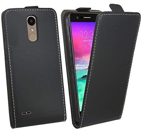 cofi1453 Klapptasche Schutztasche Schutzhülle kompatibel mit LG K9 Flip Tasche Hülle Zubehör Etui in Schwarz Tasche Hülle