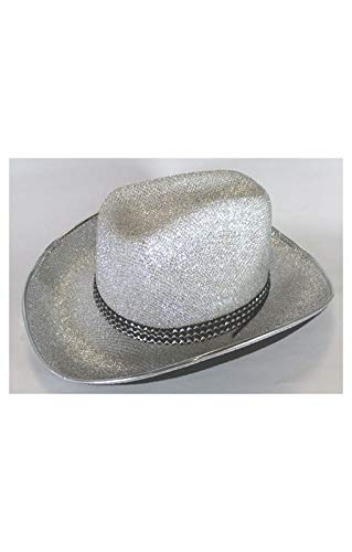 Horror-Shop argent chapeau cow-girl