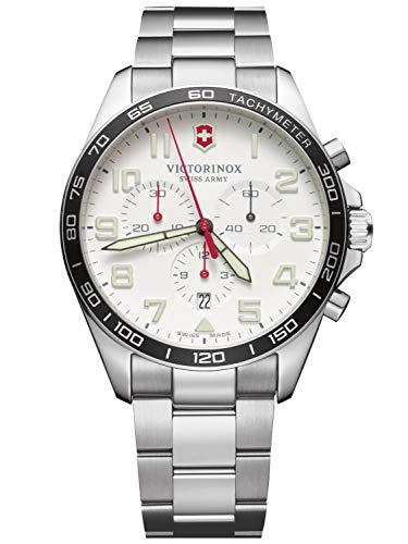 Victorinox Hombre FieldForce Chronograph - Reloj de Acero Inoxidable de Cuarzo analógico de fabricación Suiza 241856