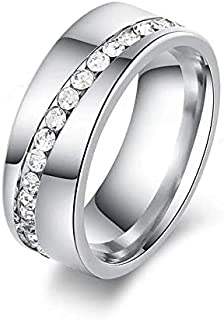 Stainless steel Women Ring Size 6