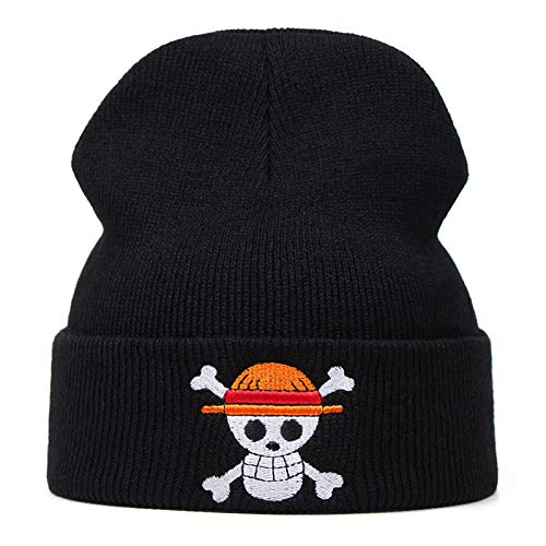 UMiCHOi One Piece Beanie Hat Anime Cap Skull Skeleton Hat