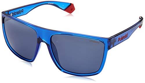 Polaroid PLD6076S-PJPC3 Gafas, BLUE, 60/14/135 para Hombre