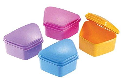 Essentials DDB Denture Box, Assorted Colors
