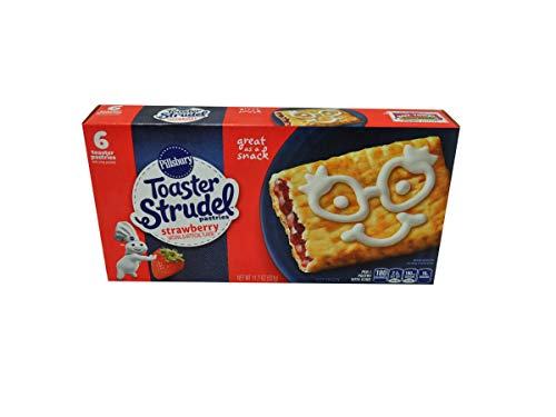 Pillsbury Strawberry Toaster Strudel, 11.7 Ounce -- 12 per case.