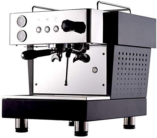 Koffiezetapparaat, Business Espresso Maker eentoetsbediening Roestvast staal for Latte en Cappuccino Movable Opschuimhulpstuk melkopschuimer WKY