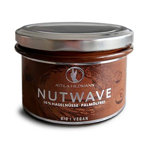 Nutwave - Premium Nuss-Nougat-Creme (bio, vegan), 2er Pack (2 x 220 g)