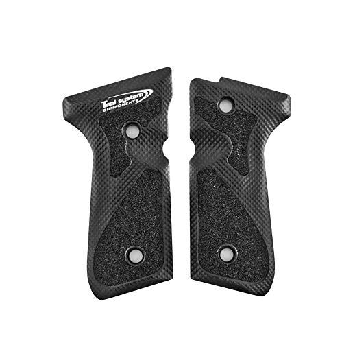 Toni system Art. GB98 Guancette 3D per Pistola Beretta 92-96-98 (Nero)