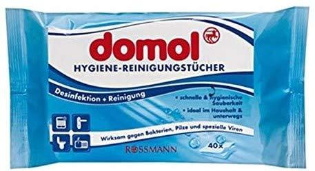 domol Hygiene-Reinigungstücher, 1 x 40 Stück