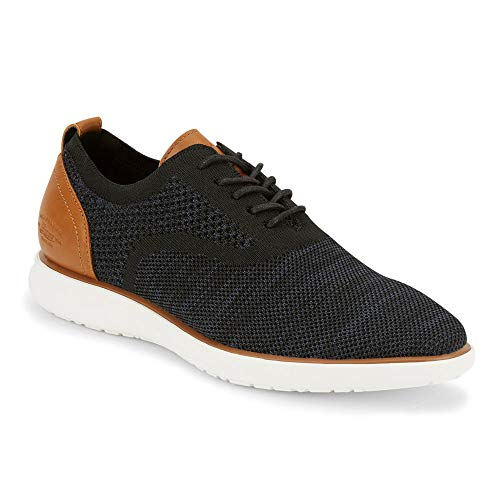 G.H. Bass & Co. Mens Connor 2 Tone KT Casual Oxford Shoe, Navy/Black, 11 M