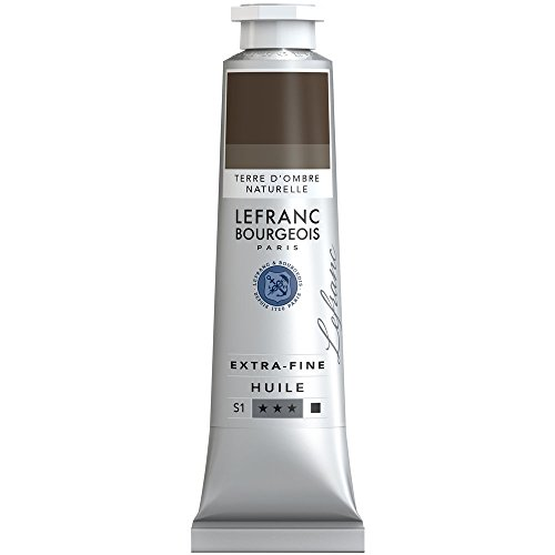 Lefranc & Bourgeois–Pintura al óleo, Umbra Natur, 4,1 x 4,1 x 20,9 cm