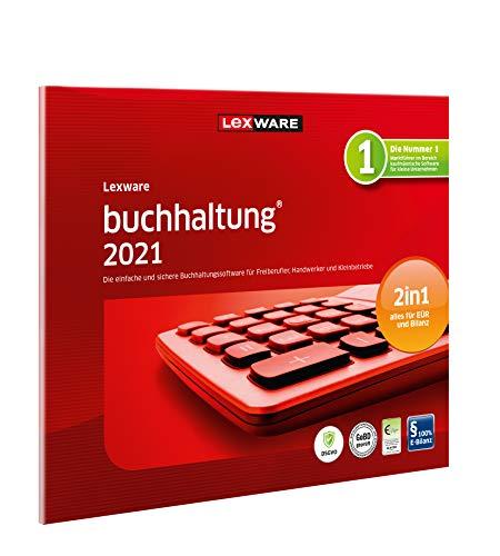 Lexware buchhaltung 2021|basis-Version in frustfreier Verpackung (Jahreslizenz)|Einfache Buchhaltungs-Software für Freiberufler|Kompatibel mit Windows 8.1 oder aktueller|Standard|1|1 Jahr|PC|Disc