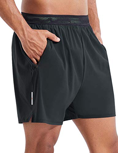 Mens Workout Shorts With Built in Brief
