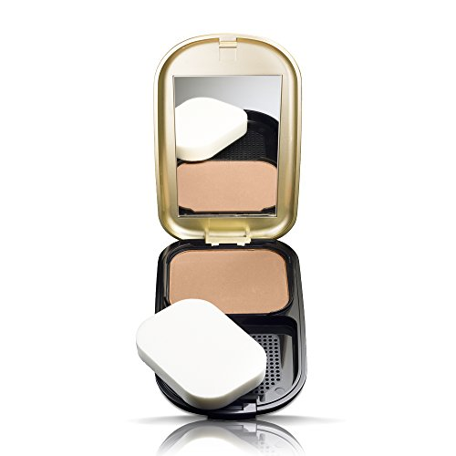 Max Factor Facefinity Compact Make-up Golden 006 – Puder Foundation für ein mattes Finish – 1 x 10 g