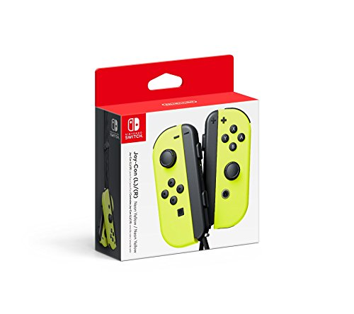 Controles Joy-Con Izquierdo y Derecho para Nintendo Switch, color Amarillo – Standard Edition
