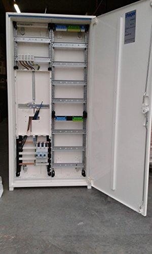 TM: Hager Zählerschrank 1 Zähler 1100mm (Tab 2015) / ZB322P17K + 1 Hager SLS 63A, für das Einfamilienhaus Komplettschrank