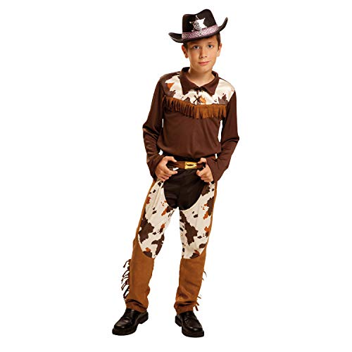 My Other Me Me-200844 Disfraz de vaquero para niño, 10-12 años (Viving Costumes 200844)